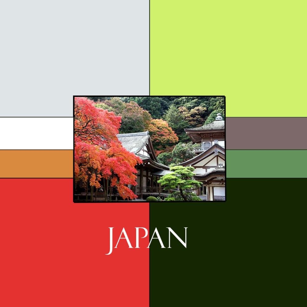 Japan Colorway