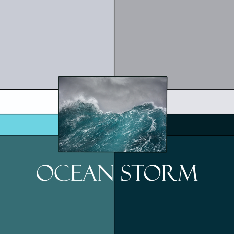 Ocean Storm Colorway